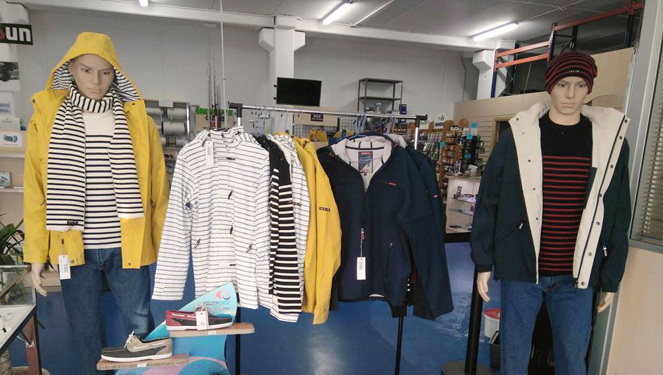 Boutique, tienda náutica y ropa náutica