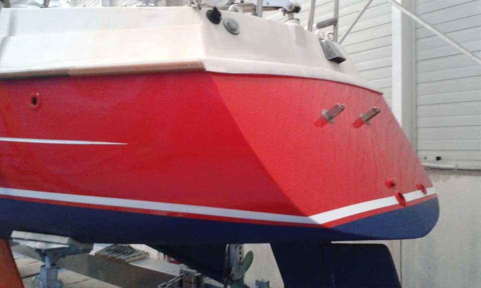 pintado embarcaciones