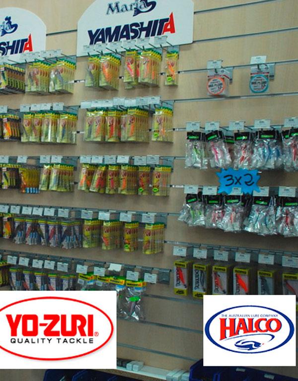 Productos de pesca y marcas de prestigio