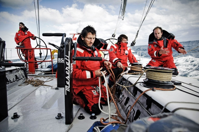 Ropa adecuada para navegar en invierno