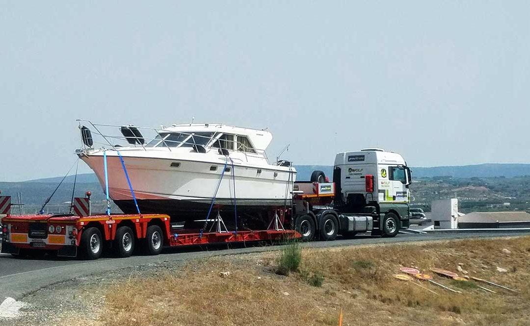 Consejos para el transporte de barcos