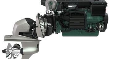 Motor de velero Volvo Penta