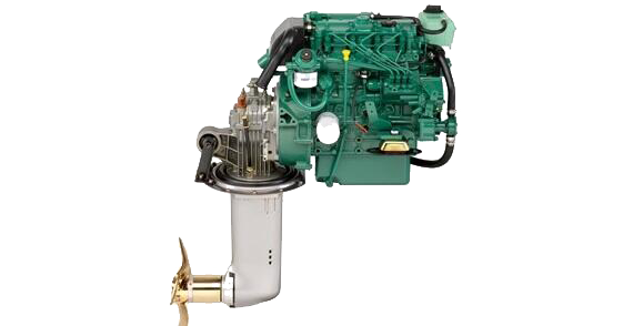 Motor Intraborda para barcos de vela