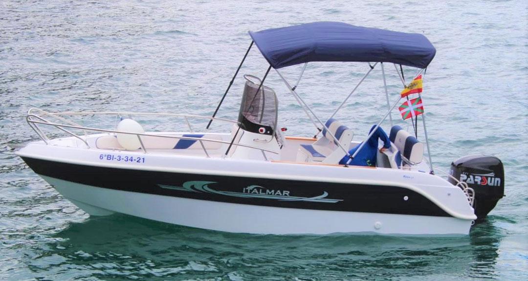 Alquiler Embarcación Italmar Open 17