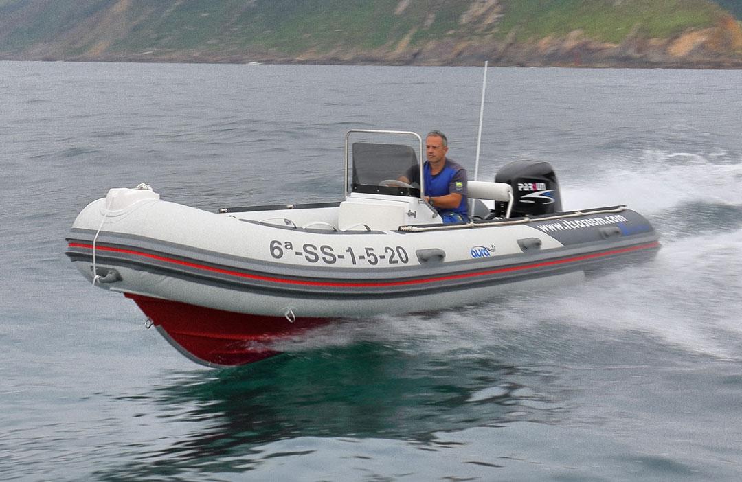 Embarcación Semirrigida