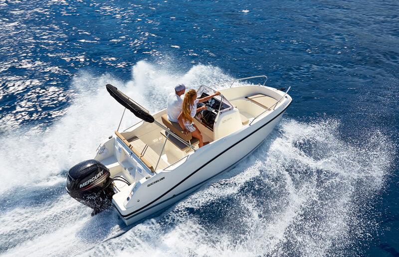 venta de embarcaciones Quicksilver en Gipuzkoa