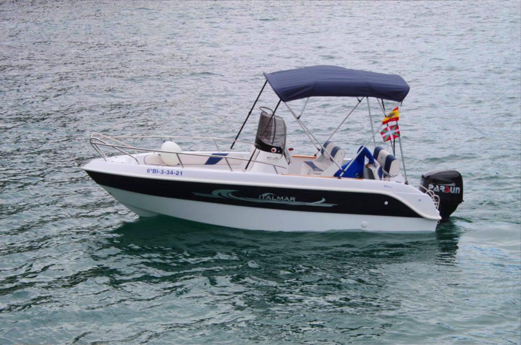 Alquiler de embarcaciones Gipzukoa